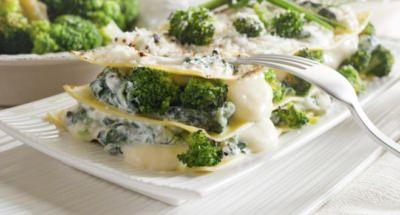 Lasagnes aux Brocolis et à la Mozzarella - Galbani