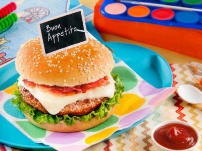 Le Hamburger des Champions - Galbani