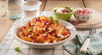 Macaronis à l'Amatriciana à la Ricotta - Galbani