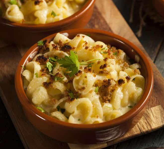 Macaronis au fromage fondu et aux noix - Galbani
