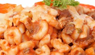 Macaroni rouges - Galbani
