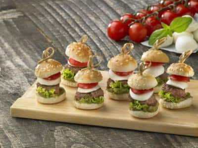 Mini Burger - Galbani