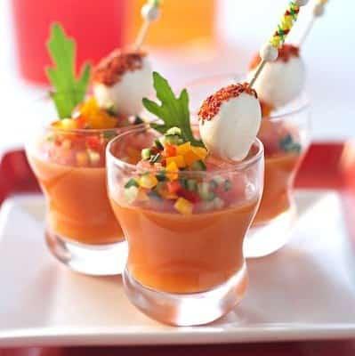 Gaspacho tomates-poivrons - Galbani