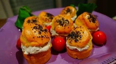 Petit sandwichs thym et citron, rillettes de sardine à la Ricotta - Galbani