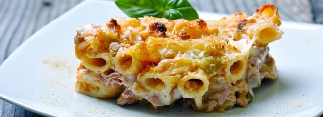 Gratin de Pâtes et Viande - Galbani