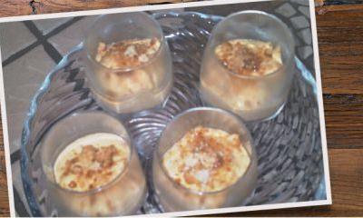 Mousse de mascarpone aux kakis et aux amarettis - Galbani