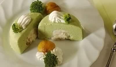 Mousse de brocolis farcie - Galbani