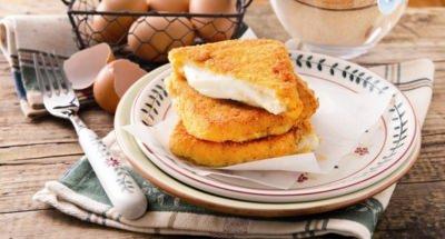 Mozzarella frite à l'œuf - Galbani