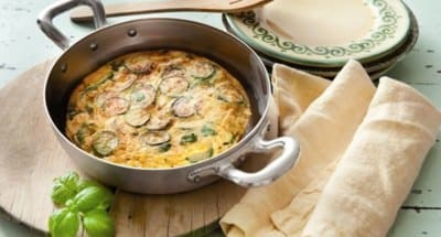 Omelette aux courgettes - Galbani