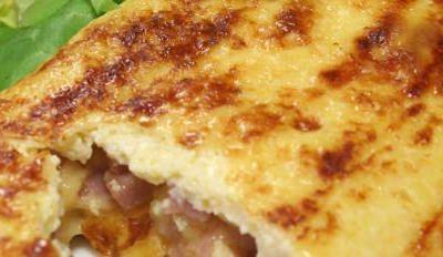 Omelette à la chicorée - Galbani