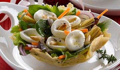 Panier de billes à la Mozzarella aux artichauts - Galbani
