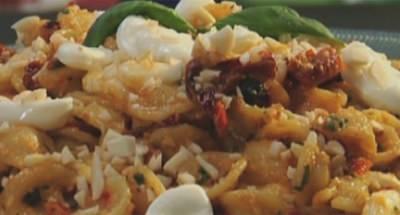 Orecchiettes, Mozzarella et Pesto Rouge - Galbani