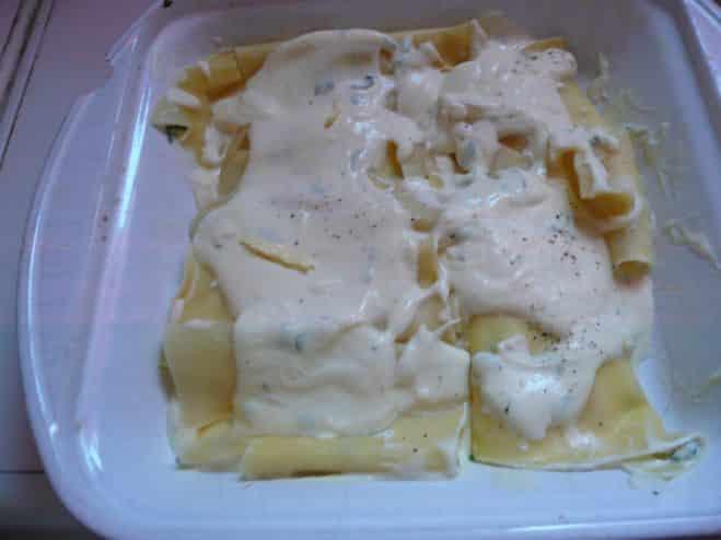 Cannelloni aux Feuilles de Lasagne - Galbani