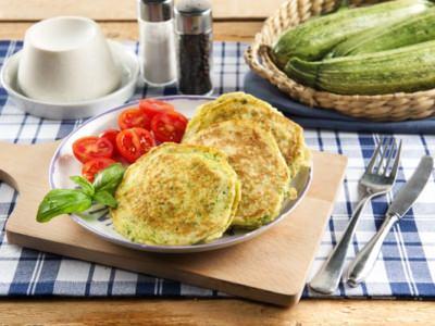 Pancakes de courgettes et ricotta - Galbani