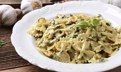 Pâtes au gorgonzola et aux épinards et parmesan - Galbani
