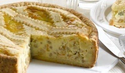 «Pastiera napoletana » à la Ricotta - Galbani