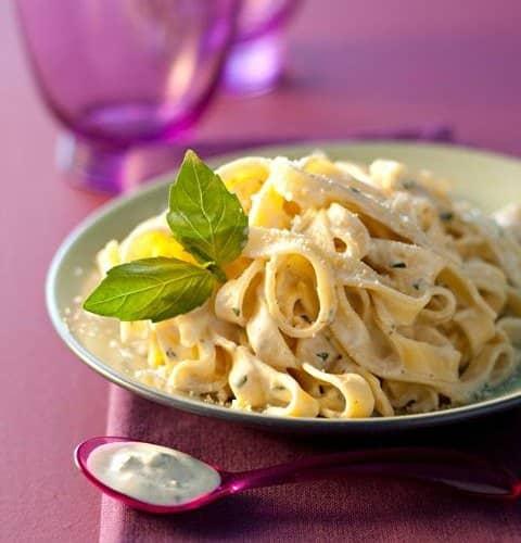 Pâtes ricotta au pesto et parmesan - Galbani