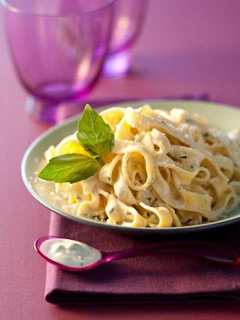 recette p 226 tes ricotta au pesto et parmesan autres recettes galbani