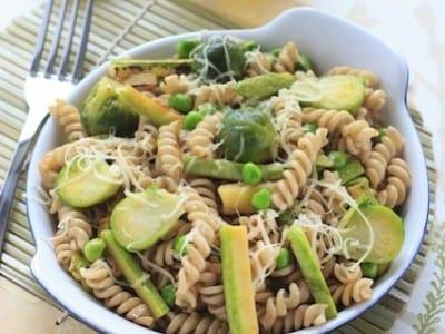 Pâtes à la ricotta et aux légumes - Galbani