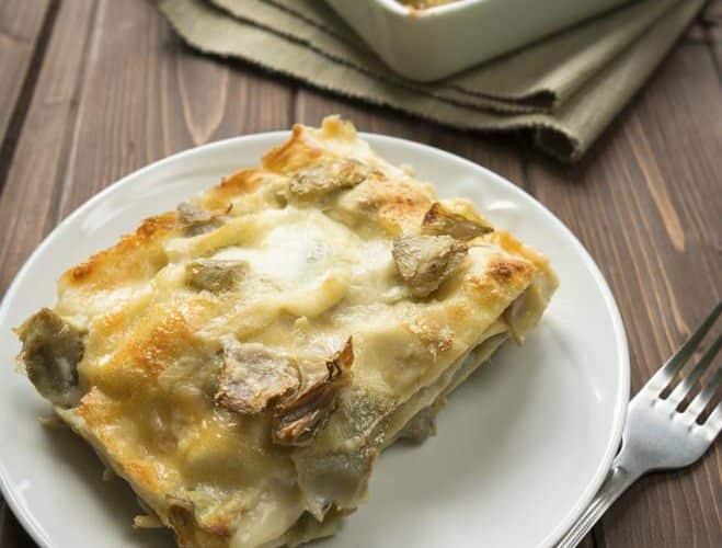 Pâtes au four aux artichauts - Galbani