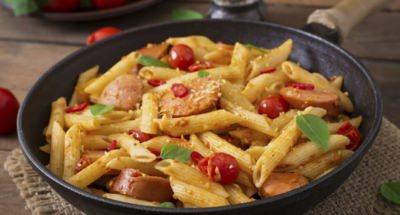 Pâtes à la Saucisse de Francfort - Galbani