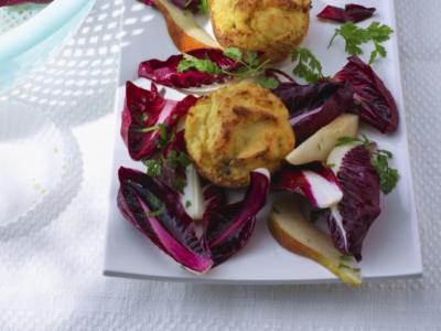Petites boulettes de chicorée au fromage - Galbani