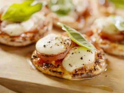 Petites pizzas apéritives - Galbani