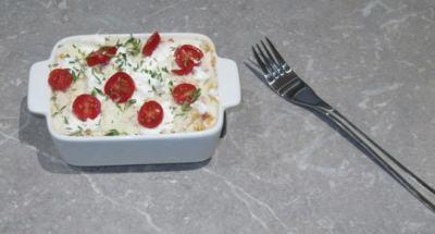 Gratin de Macaroni, Ricotta et Tomates Cerises - Galbani