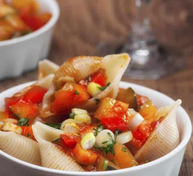Pipe aux légumes grillés - Galbani