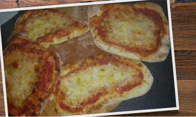 Pizza tomates et Mozzarella Cucina - Galbani