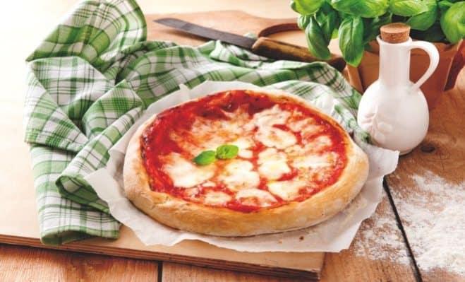 Pizza Margherita Basilic - Galbani