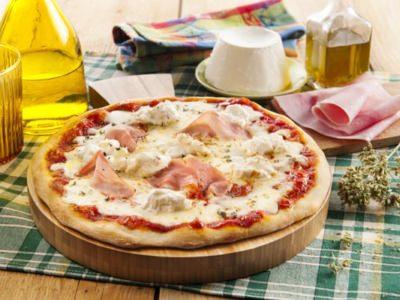 Pizza à La Mozzarella, Ricotta Et Jambon - Galbani