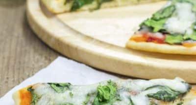 Pizza aux épinards et quatre fromages - Galbani