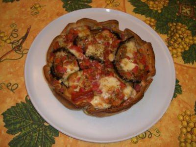 Pizza en tourte - Galbani