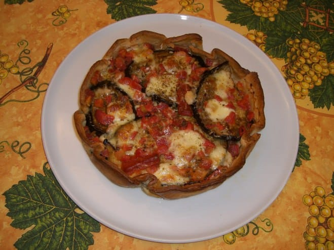 Pizza en tourte - Galbani
