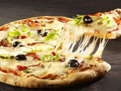 Pizza Mozzarella, Jambon Speck et asperges - Galbani