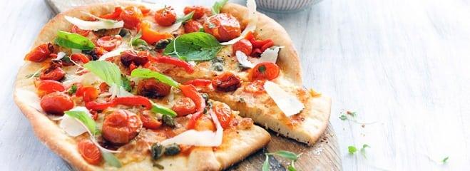 Pizza tomate et poireaux - Galbani