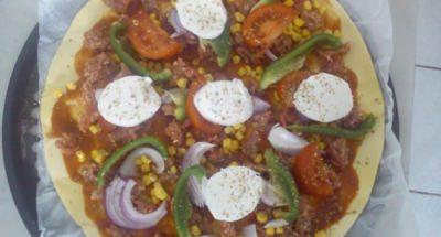 Pizza mexicaine revisitée - Galbani