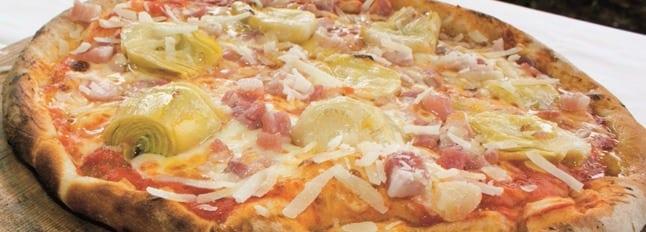 Pizza pancetta et artichauts - Galbani