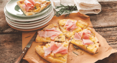 Pizza Pommes De Terre Et Jambon Cuit - Galbani