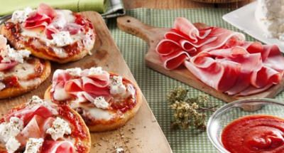 Pizza charcuterie et fromages - Galbani