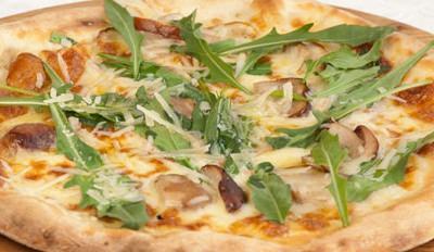 Pizza cèpes, roquette et parmesan - Galbani