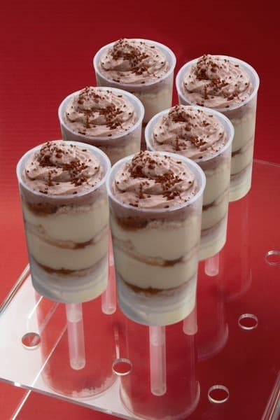 Push up cake pop façon tiramisù - Galbani