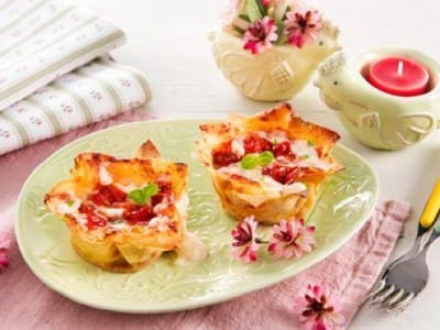Mini Lasagnes à la Mozzarella - Galbani