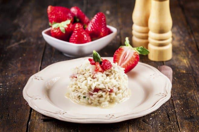 Risotto aux fraises - Galbani