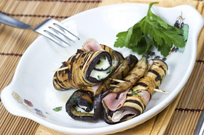 Rouleaux d'aubergine - Galbani