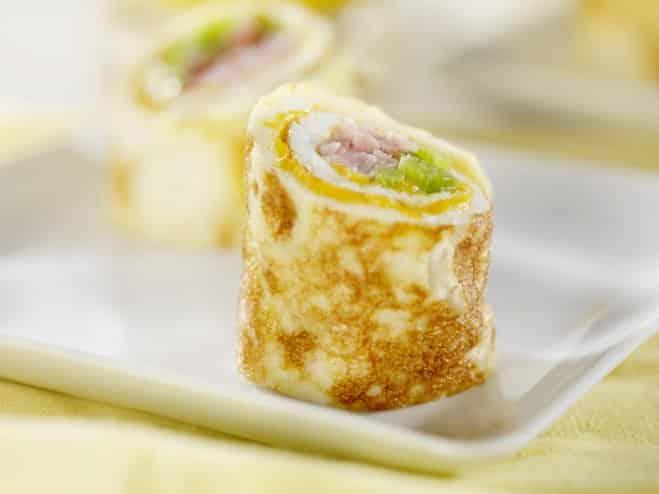 Roulés d'omelette - Galbani