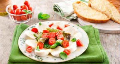 Salade Caprese aux Poivrons Verts Friggitelli - Galbani