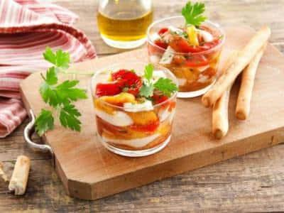 Salade Caprese de Lucanie - Galbani