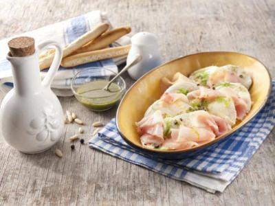 Salade de Mozzarella à l'Espadon - Galbani
